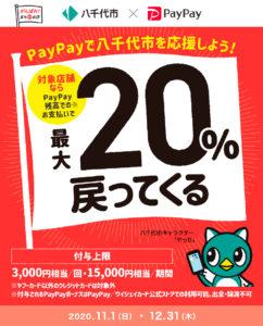 八千代市×PayPayキャンペーン
